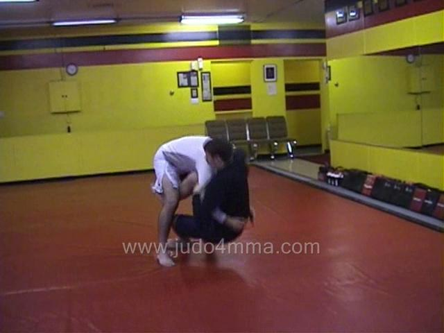 Click for a video showing a Judo for MMA technique called Sumi Gaeshi for MMA - Corner Throw for MMA